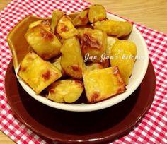 簡易蜜糖焗蕃薯