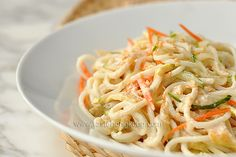 Cold Noodles with Sesame Dressing, Chinese Style