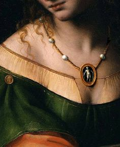 Bernardino Luini, Salome with the Head of John the Baptist (detail)