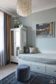 Трехкомнатная квартира в духе старой Москвы: фото проекта Елены Зуфаровой   AD Magazine
