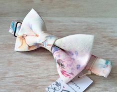 Bow tie, Papillon donna,  Farfallino, Papillon, Papillon fiori, Fiori, Pajarita donna