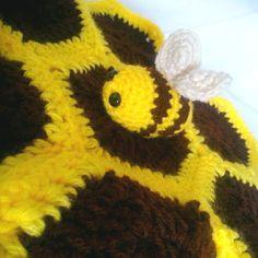 Baby Bee lovie blanket