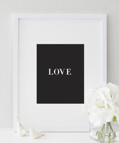 Simply stated LOVE print  | wall prints | art prints | wall prints art | art prints for walls | wall prints design | art prints for home | wall prints quotes | art prints quotes | wall prints ideas | art prints wall | wall prints decor | art & prints | modern wall prints | modern art prints