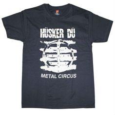 HUSKER DU METAL CIRCUS T-SHIRT NAVY