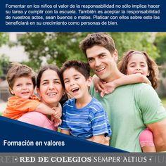 Te compartiremos la importancia de algunos valores para fomentarlos con los niños.  #FormaciónenValores #SemperAltius