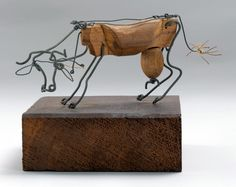 Alexander Calder  Cow  c. 1926  Wire and wood  8.9 x 20.5 x 9.9 cm  Museum of Modern Art, New York  Gift of Edward M. M. Warburg