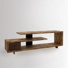 TV table: The perfect place for your TV! TV table rustic style great design for the living room beautiful TV Diy Interior Furniture, Tv Furniture, Simple Furniture, Furniture Design, Interior Design, Simple Living Room, Beautiful Living Rooms, Living Room Tv, Wooden Tv Stands
