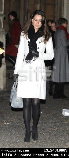 Kate Middleton..love the coat, scarf and entire outfit; she is just so pretty and makes anything look great!