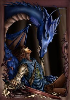 Eragon and Saphira, one of the greatest fantasy pairs of all time.
