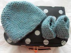 photo tricot tricot modele bonnet naissance 13