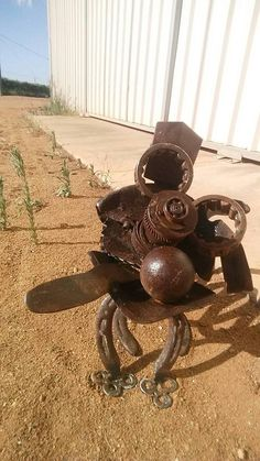 Check out this item in my Etsy shop https://www.etsy.com/au/listing/582024503/scrap-metal-dog-art