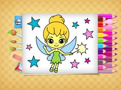 This coloring book provides beautiful pictures for toddlers and preschoolers to paint, draw and color. Educational App on iphone, ipad and android. Kids Fun, Cool Kids, Color Games, Best Apps, Toddler Preschool, Coloring Books, Toddlers, Pikachu, Beautiful Pictures