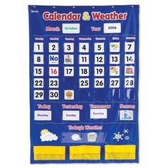 Learning Resources Calendar and Weather Pocket Chart by Learning Resources, http://www.amazon.com/dp/B000P86RMC/ref=cm_sw_r_pi_dp_AX0osb0MHK9ZR