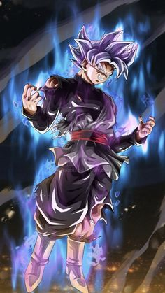 Goku Black Mastered Ultra Instinct by Dragonballchsayians on DeviantArt 1440x2560 Wallpaper, Anime Wallpaper Live, Black Goku, Black Dragon, Dragon Ball Gt, Majin Boo Kid, Animes Wallpapers, Live Wallpapers, Poster