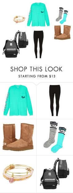 """""""Cute and casual school outfit"""" by dancerkk05 on Polyvore featuring Victoria's Secret, Dorothy Perkins, UGG Australia, Victoria's Secret PINK and Alex and Ani"""