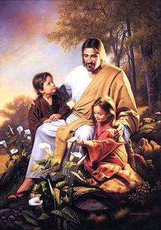 JESUS LOVES THE LITTLE CHILDREN for Joshua