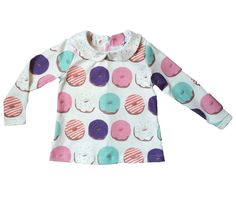 Organic Donut Collared Top