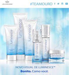Novo visual da Luminesce!   Team OURO Global