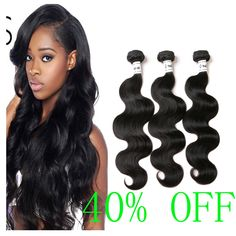 Brazilian body wave hair Amazon's choice