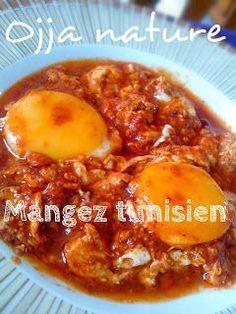 Mangez tunisien: Ojja nature العجة البسيطة