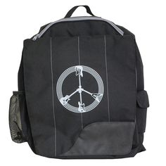 Diaper Dude Little Dude Backpack, Black Guitar Peace (Discontinued by Manufacturer) > Don't get left behind, see this great  product : Travel Backpack