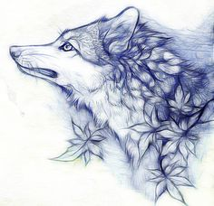 ..:Autumn Wolf:.. by WhiteSpiritWolf on deviantART