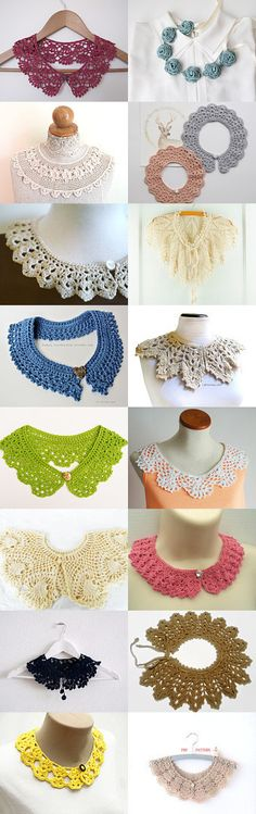maRRose - CCC: Treasury Tuesday, Crochet Collars by Marianne Dekkers-Roos on…