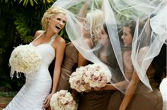 funny photo about bride and bridesmaids