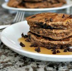 Try Peanut Powder with this Chocolate Peanut Protein Pancakes Recipe