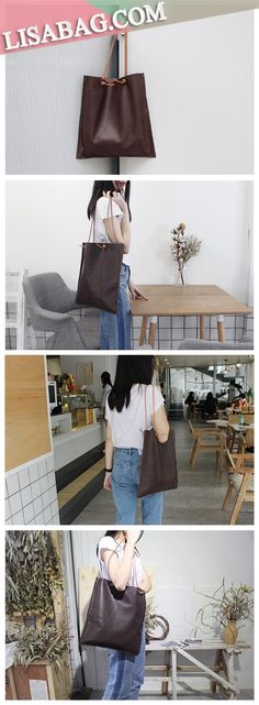 08b71923cf3c Handmade Leather Designer Tote Handbag Shopper Bag Beach Bag SB04 Designer  Totes