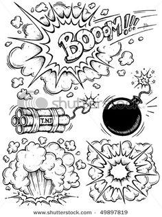 Comics Explosions