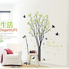 $0 - Awesome QZ233 Free Shipping 1Pcs My Lime Orange Tree Flying Birds Aorund Removable PVC Wall Stickers Home Decoration Gift - Buy it Now! #canvasprint #canvaspainting #canvasart #wallart #walldecor #walldecoration #homeart #homedecor #homedecoration #modern #home #interior #ideas #style #decor #decorideas Canvas Wall Art, Canvas Prints, Canvas Paintings, Flying Birds, Pvc Wall, Wall Stickers Home, Online Art, Lime, Wall Decor