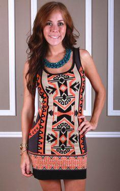 Indian Mosaic Sweater, $48.00