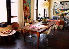 Linda mesa de madeira!