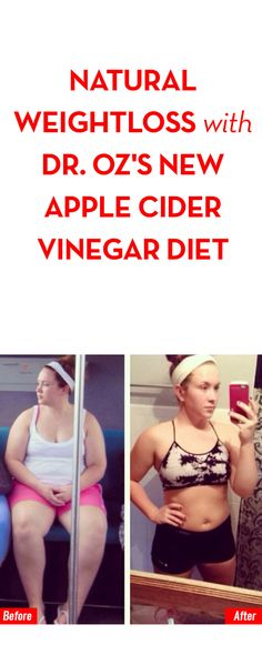 Natural Weightloss with Dr. Oz's New Apple Cider Vinegar Diet
