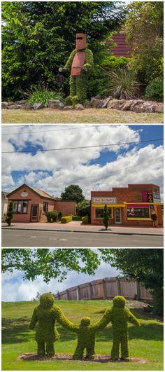 Railton, the Town of Topiary