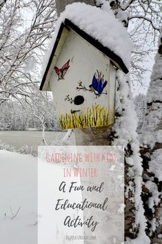 Gardening with Kids in Winter: A Fun and Educational Activity Activities To Do, Educational Activities, Everything Baby, Life Advice, Winter Garden, Raising Kids, Mom Blogs, Parenting Advice, Take Care Of Yourself