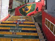 Escadaria Selaron, Rio de Janeiro - Lapa.