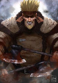 Thorkell from Vinland Saga by Sebijy on DeviantArt Otaku Anime, Manga Anime, Anime Art, Vinland Saga Manga, Saga Art, The Darkling, Japanese Animated Movies, Naruto Wallpaper, Dnd Characters
