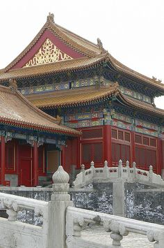 Forbidden City, China  by tburwinkle, via Flickr