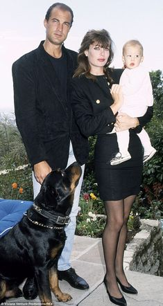 Steven and Kelly Seagal with Family
