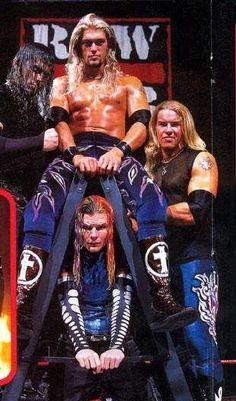 Edge, Christian, Jeff, and Matt.