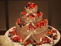 BFF's wedding cake