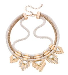 Statement necklace - Golden Dream - Bijou Brigitte Online-Shop