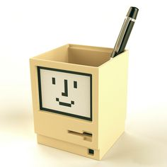 Apple Macintosh Pen Holder