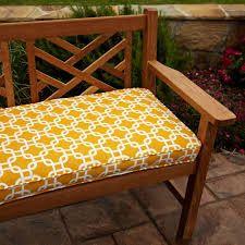 Mozaic Company Sunbrella Corded Indoor/Outdoor Bench Cushion ...