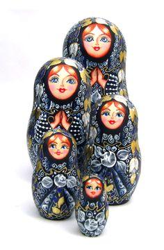 matryoshka dolls from russia | Matryoshka Russian Nesting Doll