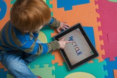 Gizmag looks at some of the best iPad apps for toddlers. For long drives and desperate times.