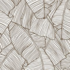 Vector illustration leaves of palm tree. Vector illustration leaves of palm tree. Pattern Art, Pattern Design, Vector Pattern, Textures Patterns, Print Patterns, Loom Patterns, Organic Patterns, Wall Wallpaper, Adhesive Wallpaper