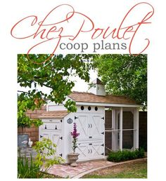 My dream coop - plans available for purchase. Ty doesn't know what he's in for...